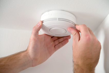 Smoke alarm repair